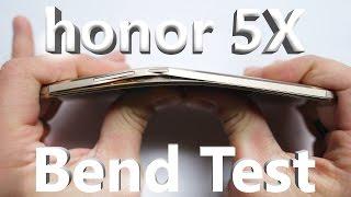 getlinkyoutube.com-Huawei honor 5x - Bend Test, Scratch Test, Burn Test
