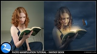 getlinkyoutube.com-Fantasy Book Manipulation Effects Photoshop Tutorial