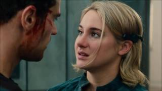 Tris and Four love scenes kisses theo james and shailene woodley