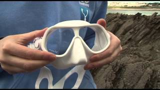 Emma Farrell reviews the Steel Comp Freediving mask from Subgear