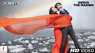 getlinkyoutube.com-Making of Gerua | Kajol, Shah Rukh Khan | Dilwale | A Rohit Shetty Film