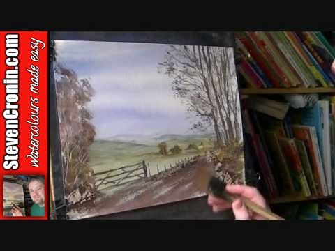 Swaledale, North Yorkshire Watercolour Painting Demo Part 2