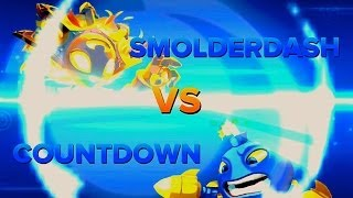 getlinkyoutube.com-Skylanders Swap Force PVP - Smolderdash VS Countdown