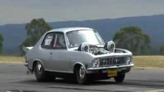 MRMAD TWIN TURBO LJ Torana Burnout