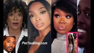 Brandy & Mom Skipped Ray J & Princess Baby Shower after Cheating Subs & Brandy Saves Face! 👀