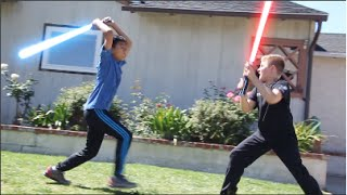 getlinkyoutube.com-REVENGE OF THE KIDS - How Kids Play Star Wars