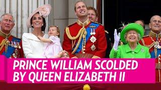 getlinkyoutube.com-Prince William Gets Scolded by Queen Elizabeth II