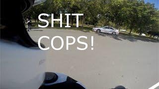 getlinkyoutube.com-QRIDE PRACTICE | COPS! | RIP MOTO FROGGER