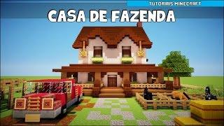 getlinkyoutube.com-Tutoriais Minecraft: Como Construir uma Casa de Fazenda (Parte 1)