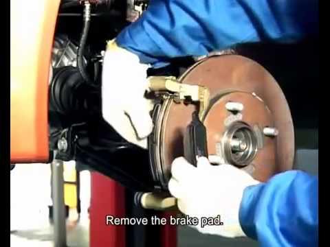 Замена передних тормозных колодок и дисков Chery A13, Bonus, Very и ЗАЗ Форза