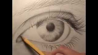 getlinkyoutube.com-كيفية رسم العين بالرصاص