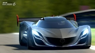 getlinkyoutube.com-【GT6】グランツーリスモ6【60FPS】上級レーシングカーチャレンジ マツダ 風籟 VS パガーニ・ゾンダ LMレースカー ニュルブルクリンク北コース 2014/8/7 シーズナルイベント