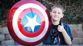 Captain America Hasbro Shield Unboxing