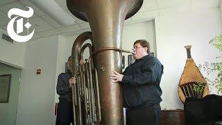 Playing a Titanic Tuba   The New York Times