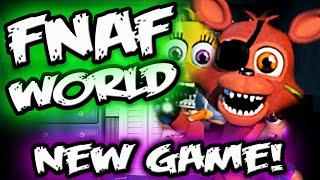 getlinkyoutube.com-FNAF WORLD CONFIRMED! || *NEW Fnaf RPG Spin Off || Five Nights at Freddy's WORLD Confirmed