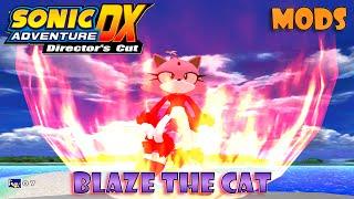 getlinkyoutube.com-Sonic Adventure DX Mods: Blaze the Cat/Burning Blaze