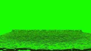 getlinkyoutube.com-water flooding in green screen free stock footage