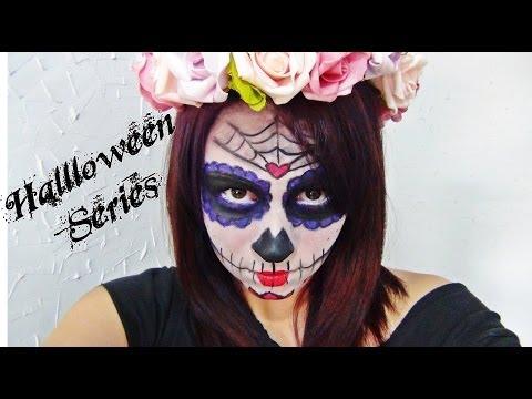 Halloween Series | Sugar Skull Makeup - Caveira Mexicana