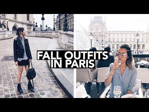 Fall Lookbook in Paris 2016 || Sylvia Jade