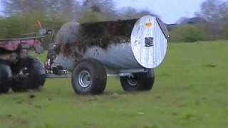 Quad-X ATV Muck Spreader