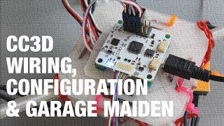 getlinkyoutube.com-DIY Mini Quadcopter w/ OpenPilot CC3D Wiring, Configuration, and Garage Maiden