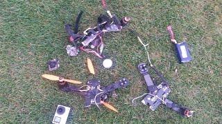 getlinkyoutube.com-Fastest quadcopter i've ever flown + Most Destructive Crash