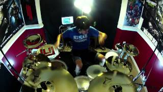 getlinkyoutube.com-Hall of Fame - Drum Cover - The Script ft. will.i.am