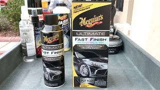 New Meguiar's Ultimate Fast Finish - WaxMode Review