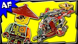 getlinkyoutube.com-Lego Ninjago RONIN REX 70735 Ghost Army Stop Motion Build Review