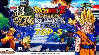 getlinkyoutube.com-Dragon Ball Extreme Butoden Mugen - TOP 5 (BR)