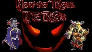 Castle Clash: Stratiges & Tips on Rolling Heros / Vald-dracula / Aries