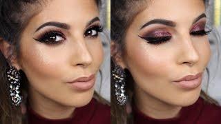getlinkyoutube.com-Dramatic Fall Makeup Tutorial 2015