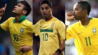getlinkyoutube.com-Ronaldinho ● Neymar ● Robinho - Crazy Samba Skills Show | HD