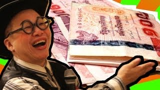 getlinkyoutube.com-สอนกลเสกแบงค์20 เป็นแบงค์100 Banknote Transformation