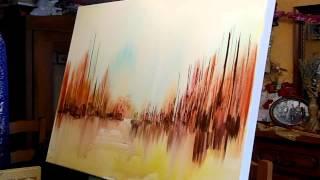 getlinkyoutube.com-JEAN-CLAUDE LANNES : PERFORMANCE EN ATELIER - UNE TOILE EN MUSIQUE EN 12 MINUTES - VIDEO INTEGRALE