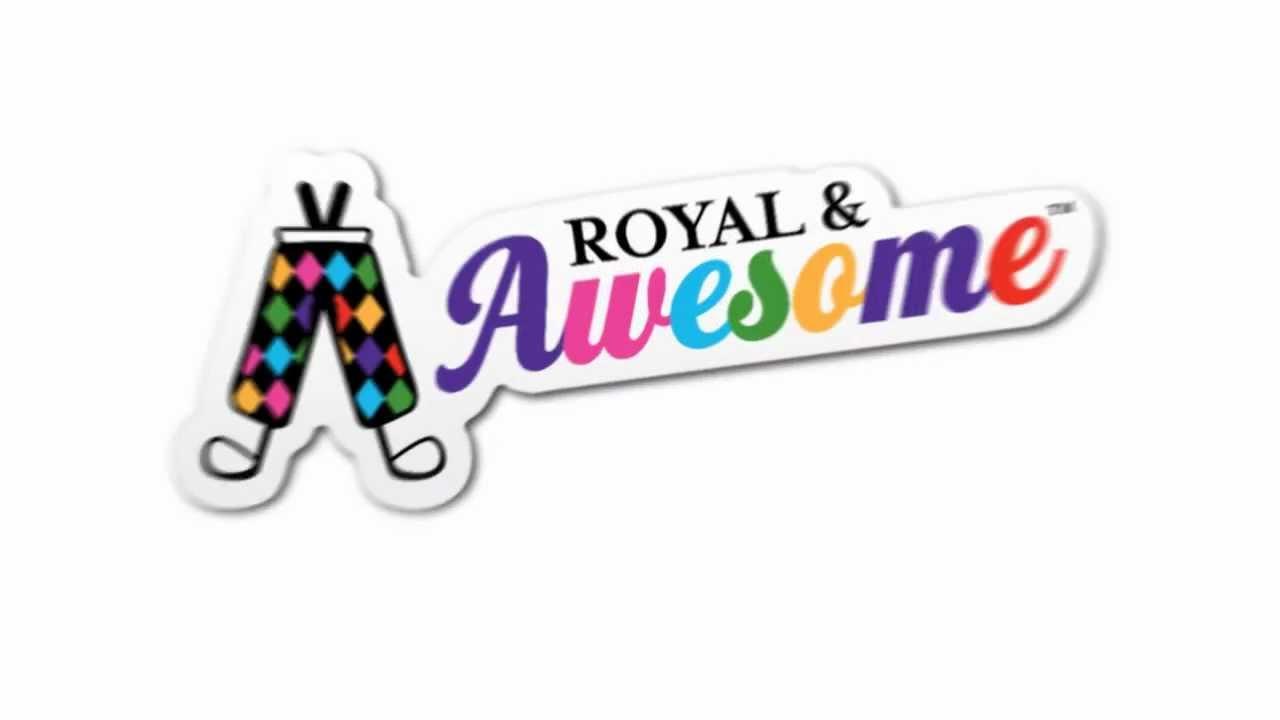 Våga sticka ut från mängden med Royal & Awesome -Michael Broström