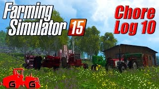 Farming Simulator 15: Chore Log 10 - Vintage Days!
