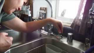getlinkyoutube.com-Moen Kitchen Faucet Two Handle Repair