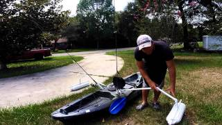 getlinkyoutube.com-DIY Kayak/Canoe Stabilizers
