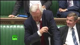 getlinkyoutube.com-David Davis mocks Labour at Brexit debate