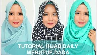 3 Tutorial Hijab Daily (menutup dada) - Alyn Devian
