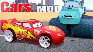 Grand Theft Auto IV - Lightning Mcqueen New Wheels
