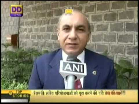 DD News Interview: Mr. Arunendra Kumar, Chairman Railways Board on Railway Budget 2014-15