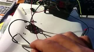 Simply flyback driver for small electric sparks