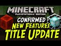 Minecraft PS3/PS4/Xbox - Title Update - NEW ITEMS - Beacons, Redstone Block, Skyrim