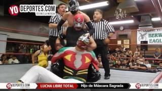Hijo de Mascara Sagrada derrota a Yakuza Lucha Libre Total