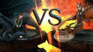 getlinkyoutube.com-How To Train Your Dragon: Snotlout Boss Battle