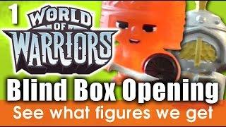 getlinkyoutube.com-World of Warriors blind box opening - World of Warriors toys video