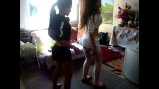 getlinkyoutube.com-yo i mi sobrina bailando- MARIANA