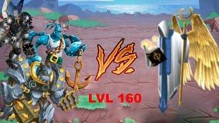 getlinkyoutube.com-Monster legends - Uriel boss final level - 160